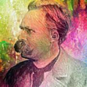 F.w. Nietzsche Art Print by Taylan Apukovska