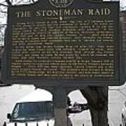 Ga-029-6 The Stoneman Raid Art Print