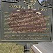Ga-104-1 Joshua Hill Home Art Print