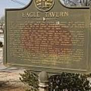 Ga-108-5 Eagle Tavern Art Print