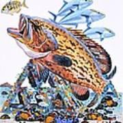 Gag Grouper Art Print