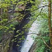 Gainfeld Waterfall In Spring Austria Art Print