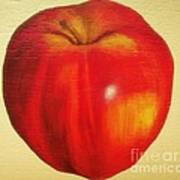 Gala Apple Art Print