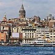 Galata Tower 03 Art Print