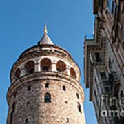 Galata Tower 03 Art Print