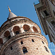 Galata Tower 04 Art Print