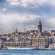 Galata Tower Istanbul Art Print