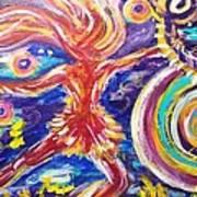 Galaxy Dancer Art Print