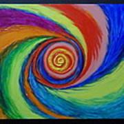 Galaxy M-63 Art Print