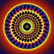 Galaxy Spotlight Kaleidoscope Art Print