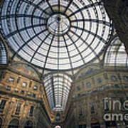 Galleria Vittorio Emanuele II - Milan Art Print