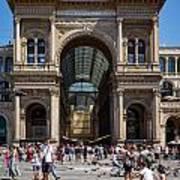 Galleria Vittorio Emanuele. Milan Art Print
