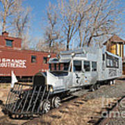 Galloping Goose 7 In The Colorado Railroad Museum Art Print