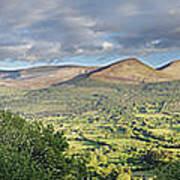Galty Mountains 1 Art Print