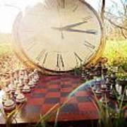Game Of Chess Art Print