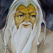 Gandalf The White Art Print by Patricia Howitt