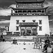 Gandantegchenling Monastery Art Print