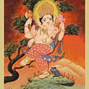 Ganesh Art Art Print