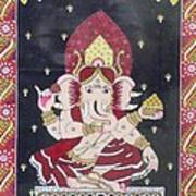Ganesha The Hindu God Art Print