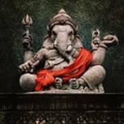Ganesha V.2 Art Print