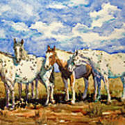 Gang Of Four Art Print
