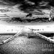 Gangplank Of Perfection Infrared Extreme Art Print