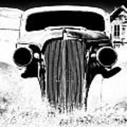 Gangster Car Art Print