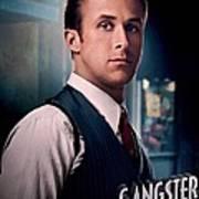 Gangster Squad Gosling Art Print