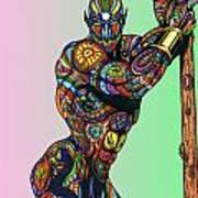 Gann Art Print