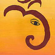 Ganpati- Om Art Print
