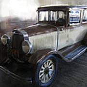 Gansgter Era Automobile Art Print