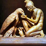 Ganymede Waters Zeus  Art Print