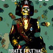 Gasparilla Pirate Fest 2015 Full Work Art Print