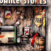 Garage - Advance Stores  Art Print