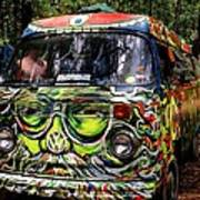 Garcia Vw Bus Art Print