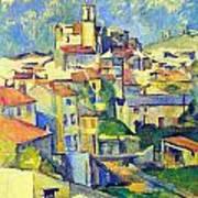 Gardanne By Cezanne Art Print