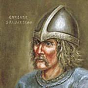 Gardar Svavarsson Art Print