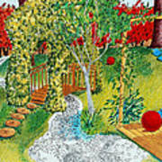 Garden # 1 Art Print