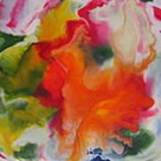 Garden Angel Abstract Art Print