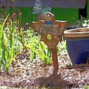 Garden Angel Art Print