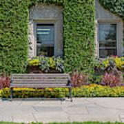 Garden At Niagara Parks School Art Print