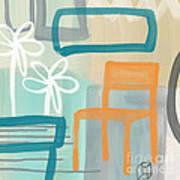 Garden Chair Print by Linda Woods