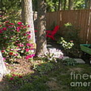 Garden Cleanup Art Print