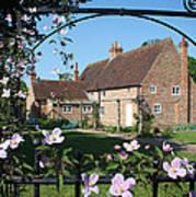 Garden  Cottage Art Print by Stephen Norris