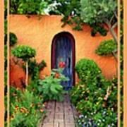 Garden Delights Mesilla Art Print