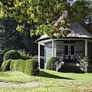 Garden Dome House In City Park Boschveld Arnhem Netherlands Art Print