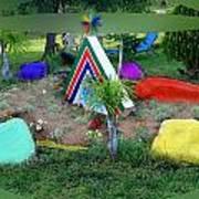 Garden Galaxy Art Print