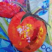 Garden Harvest Collage Detail Art Print