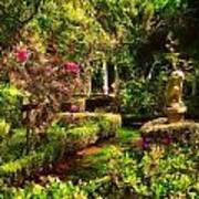 Garden Impressions Art Print