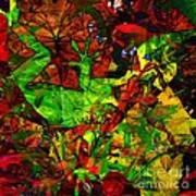 Garden Lizard Art Print